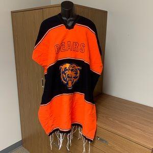 Chicago Bears Poncho